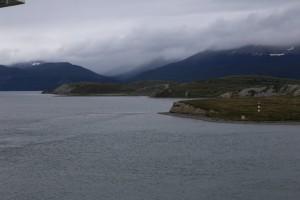 Im beagle channel vor Ushuaia